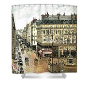 Rue Saint Honore Shower Curtain