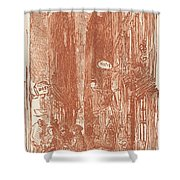 Rue Saint-severin Shower Curtain