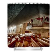 Ruffatti Organ Shower Curtain