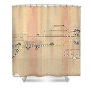 Rufford Jn 1981 Resignalling Shower Curtain