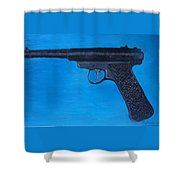 Ruger Shower Curtain