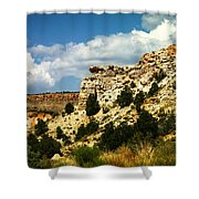 Rugged New Mexico Shower Curtain