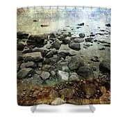 Rugged Peace Shower Curtain
