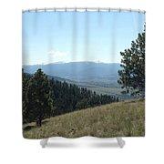 Rugged Serenity Shower Curtain