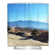 Ruins And Hills Shower Curtain