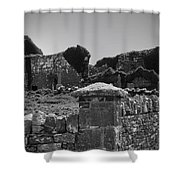 Ruins In The Burren County Clare Ireland Shower Curtain