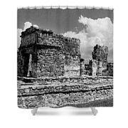 Ruins Of Ek Balan Shower Curtain