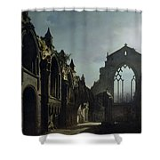 Ruins Of Holyrood Chapel Shower Curtain