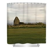 Ruins Of Hospice. Shower Curtain