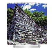 Ruins Of Nan Madol Shower Curtain