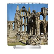 Ruins Of Whitby Abbey Shower Curtain