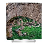 Ruins Of White's Factory - Keystone Shower Curtain