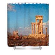 Ruins. Palmyra Shower Curtain