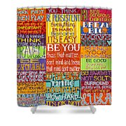 Rules  Shower Curtain