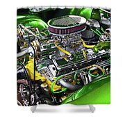 Rumble Engine Shower Curtain