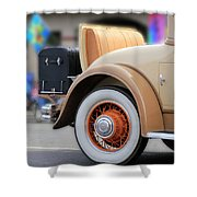 Rumble Seat Shower Curtain