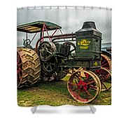 Rumley Oil Pull II Shower Curtain