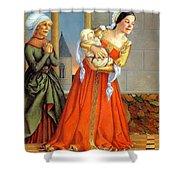 Rumpelstiltskin 021 Paulozelinsky Sqs Paul O Zelinsky Shower Curtain