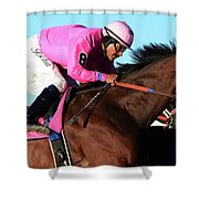 Run For The Roses 1 Shower Curtain