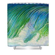 Run To The Sea Shower Curtain