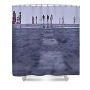 Runway Shower Curtain
