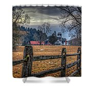 Rural America Shower Curtain by Everet Regal