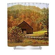 Rural Appalachia Shower Curtain