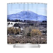 Rural Beauty Vermont Style Shower Curtain