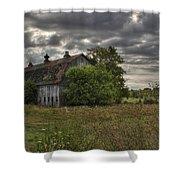 Rural Clayton Shower Curtain