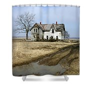 Rural Decay Shower Curtain