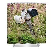 Rural Delivery No 4 Shower Curtain