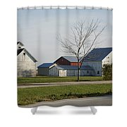 Rural Farm Central Il Shower Curtain