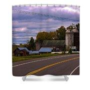 Rural Farm Shower Curtain