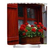 Rural Farm House, Szentbekkala, Hungary Shower Curtain
