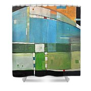 Rural Landscape Number 3 Shower Curtain
