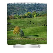 Rural Life Shower Curtain