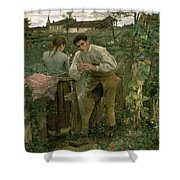 Rural Love Shower Curtain