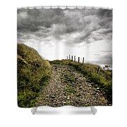 Rural Path Shower Curtain