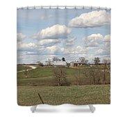Rural Randolph County Shower Curtain