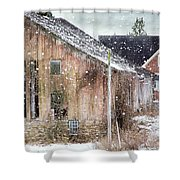 Rural Relic Shower Curtain