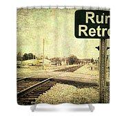 Rural Retreat Shower Curtain