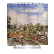 Rural Route 1 Shower Curtain