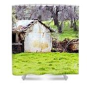 Rural Ruin Shower Curtain