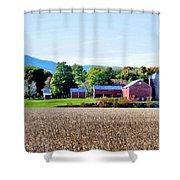 Rural Scene  Shower Curtain