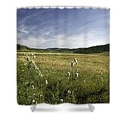 Rural Scenic Landscape Shower Curtain