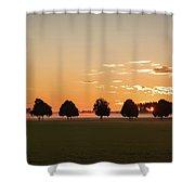 Rural Serenity Shower Curtain