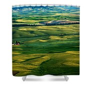 Rural Tapestry Shower Curtain