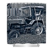 Rural Vehicle Shower Curtain