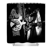 Rush 77 #52 Enhanced Bw Shower Curtain