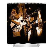 Rush 77 #52 Enhanced In Amber Shower Curtain